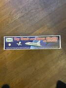 1999 Hess Truck And Space Shuttle With Satellite Never Opened Original Box.