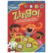 Thinkfun Game Zingo Word Picture Bingo Reaktionsspiel Childand039s Play From 4 Years