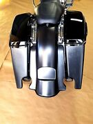 6stretched Saddlebags / Rear Fender Included For All Hd Touring Models 2014-up