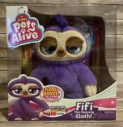 Pets Alive Fifi The Flossing Sloth Brand New