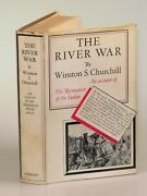Winston S. Churchill - The River War, First U.s. Edition In Dust Jacket, 1933