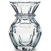 Baccarat Crystal Made In France Original Harcourt Vase New/box Heavy And Stately