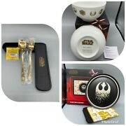 Star Wars Plate+ Placemat + Bowl Set+spoon +fork Disney Brodway - Not For Sale