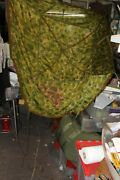 Original Camo. Parachute 53x53rough Size Great For Displays To Cool To Last