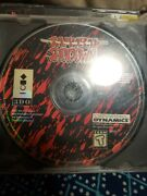 Playstation 1 Samurai Shodown Sold As Is.