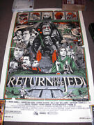 Star Wars Return Of The Jedi Tyler Stout Mondo Print Not Signed But Numbered