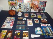 Junk Drawer Lot 1 Some New Items Some Used. Cards Coins Comics Star Trek Lite