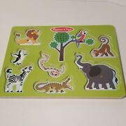 Melissa And Doug Zoo Animals Sound Puzzle Traditional Toys