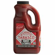 Sweet Spicy Hot Sauce Ingredients Smoky Grill Restaurant Event 64 Oz.