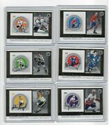 2005 Canada Post Stamps Nhl All-star Autograph Set Of 6 Pilote Stanley Richard +