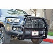 Steelcraft Automotive 50-3420c Black Hd Grille Guards For 2016-20 Toyota Tacoma