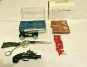 Vintage Lot Of Die Cast Pirate Cannon Musket Long Rifle And Click Boom Caps