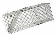 Havahart 1085 Easy Set One-door Cage Trap For Raccoons Stray Cats Groundho...