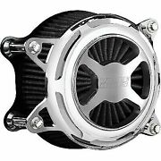 Vance And Hines Chrome Vo2 X Air Cleaner Filter Harley Twin Cam 99-17 1010-2625