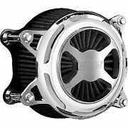 Vance And Hines Chrome Vo2 X Air Cleaner Filter Harley Fl Fx 08-17 1010-2621