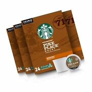 Starbucks Pike Place Roast K Cups, 96-count 24 Count Pack Of 4