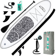 10and039 Inflatable Stand Up Paddle Board Sup Surfboard With Complete Kit 6and039and039 Thick