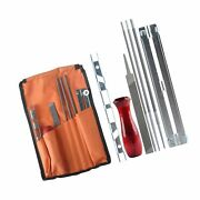 Chainsaw Sharpener File Kit For Stihl Sharpening Filing Chainsaws And Other Bla...