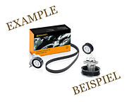 Contitech V-ribbed Belt Pulley Water Pump Kit For Renault Espace Iii 1.9l L4 L6
