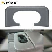 For F250 F350 99-10 Center Console Cup Holder Replaces Pad Light Flint Grey