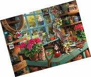 White Mountain Puzzles Curious Kittens - 1000 Piece Jigsaw Puzzle