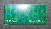 1970 Ford Custom Galaxie 500 Xl Ltd Brougham Country Squire Orig Owner's Manual