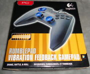 New Logitech Rumblepad Wired Usb Pc Video Game Controller Gamepad Gaming 2002