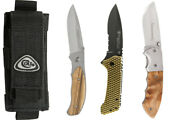Closeout Dealer Or Collector Lot 1 Colt Sheath 3 Linerlock Knives Lot056