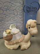 Precious Moments Crown Him King Of Kings 118263 Camel Nativity Addition