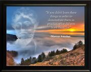 Marcus Aurelius If You Didn't Poster Print Picture Or Framed Wall Art