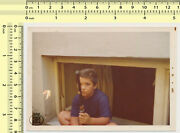 074 1970and039s Boy With Bb Gun Air Rifle Toy Model Kid Vintage Photo Old Original