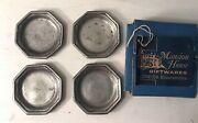 Used // Vintage Oneida Silversmiths // Pewter Dishes // Made In Portugal
