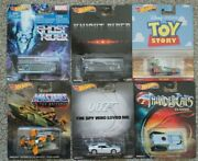 Hot Wheels Ghost Knight Rider, Thundercats, 007, Toy Story, Masters Universe