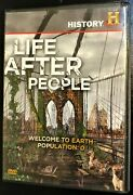 Life After People Welcome To Earth Population 0 Dvd, 2008 New Unsealed