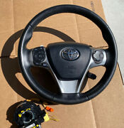 12 13 14 Toyota Camry Se Steering Wheel W/ Airbag, Clock Spring And Angle Sensor