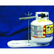 Manchester 1811.1 Tank Propane Tank Rack Tray With Hold Down Clamp New