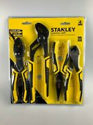 Stanley Pliers Tools 4 Pcs 8and039and039 10and039and039 8and039and039 7and039and039 Brand New Free Shipping