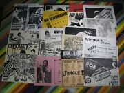 Vtg 1980s Punk New Wave Music Event Flyer - 8.5x11 Lloyds Mab Sound Of Music+