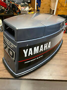1988 Yamaha 70 Hp 3 Cyl 2 Stroke Outboard Hood Top Cowl Cover Freshwater Mn