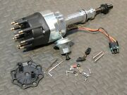 Ready To Run Billet Distributor W/vacuum And Mechanical Ford 351c,m/400 429/460