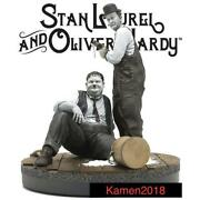 Movie Statue New Unused Stan Laurel And Oliver Hardy Genuine Limited To 400