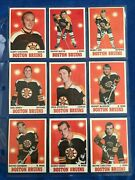 1970-71 Topps Complete 132 Cards Set Vgex+/ex+        48072