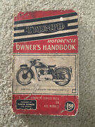 Triumph Motorcycles A Practical Guide Covering All Models From 1937 Handbook