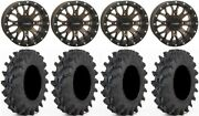 System 3 St-3 Bronze 14 Wheels 30 Outback Max Tires Honda Rincon Rancher