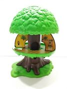 Vintage 1975 Kenner Tree Tots Family Tree House Incomplete Ewok Treehouse