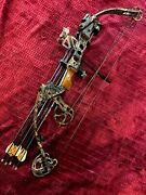 Camouflage Parker Force Multiplier Compound Bow With Arrows.andnbsp