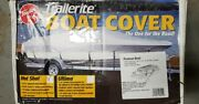 Taylor Made Trailerite Pontoon Boat Playpen Cover 23and0391 - 24and0390 X 102 Gray