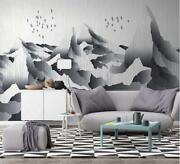 3d Black Mountain Zhua6562 Wallpaper Wall Murals Removable Self-adhesive Zoe