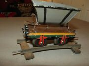 Early Hand Painted Gauge 1 Dump Car Either Marklin Or Bing Nice