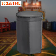 30-gallon Insulated Drum Heating Blanket Barrel Heater W/fixed Thermostat 100 Anddegf